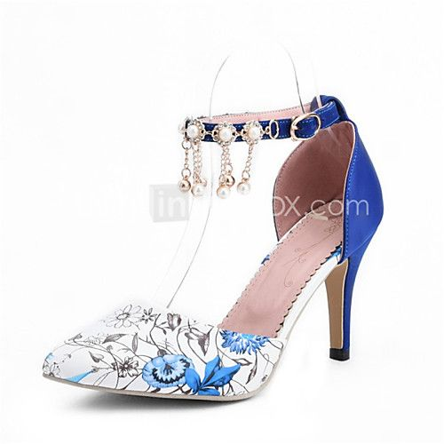 Women's Shoes Leatherette Stiletto Heel Heels Heels Wedding / Party & Evening / Dress / Casual Black / Blue / Green - AUD $35.11 ! HOT Product! A hot product at an incredible low price is now on sale! Come check it out along with other items like this. Get great discounts, earn Rewards and much more each time you shop with us!