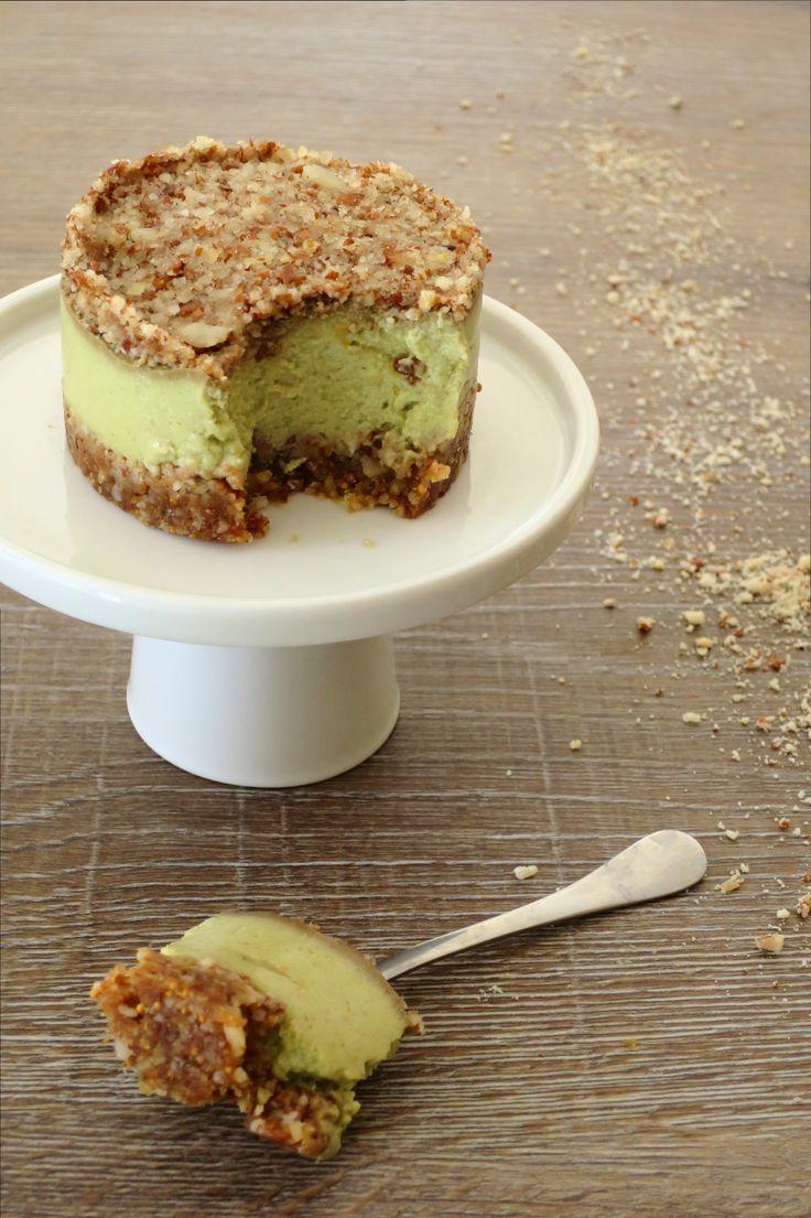 Gâteau cru avocat, figue et citron – Vegan, sans gluten