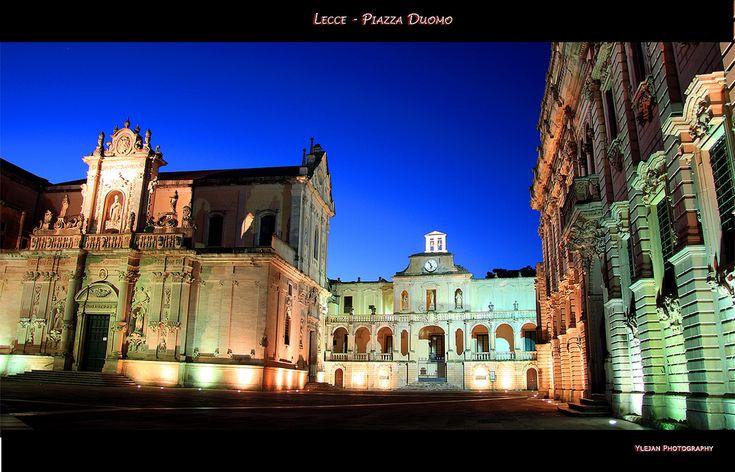 Piazza Duomo - Lecce - Puglia - Italia