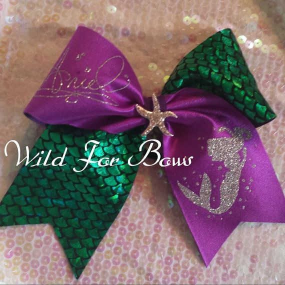 Perfect for your Disney princess. Check out Wild for Bows facebook page