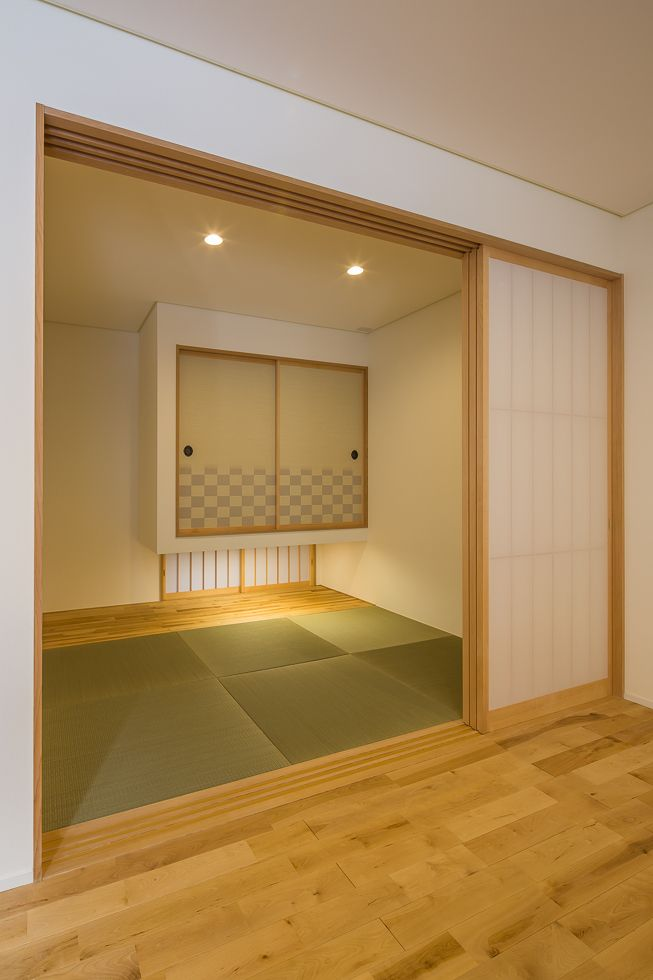 17 best ideas about tatami room on pinterest japanese for Japanese tatami room design