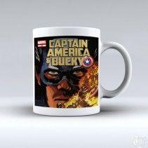 Avanger Captain America bucky White Mug