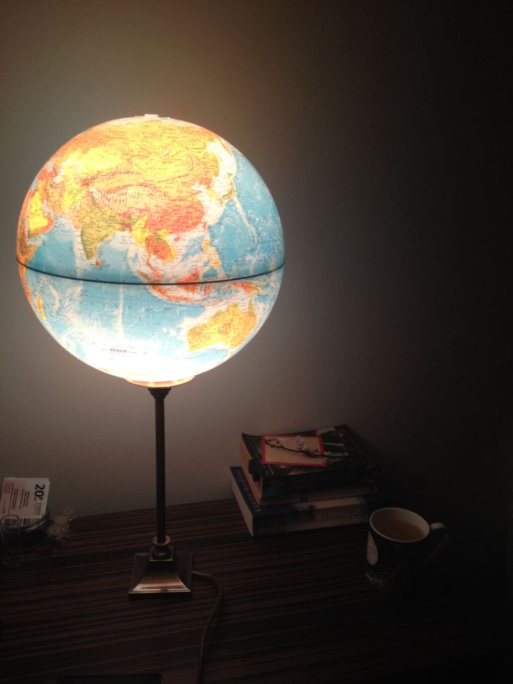 502 best g is for globe images on pinterest globes map globe and maps lamp from an old russian globe gumiabroncs Gallery