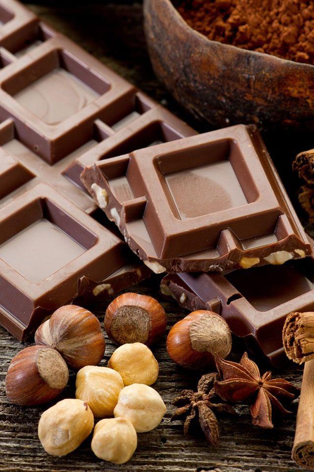 il marrone è dolce come una cioccolata calda!