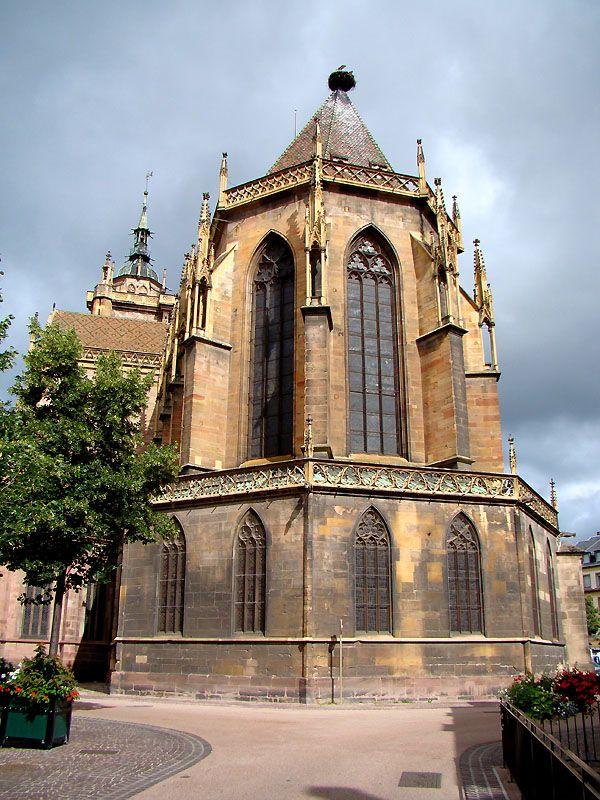 VOYAGER EN FRANCE | L'église Saint-Martin de Colmar, #France, #voyagerenfrance