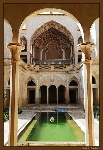 kashan,Iran خانه ى عباسيان