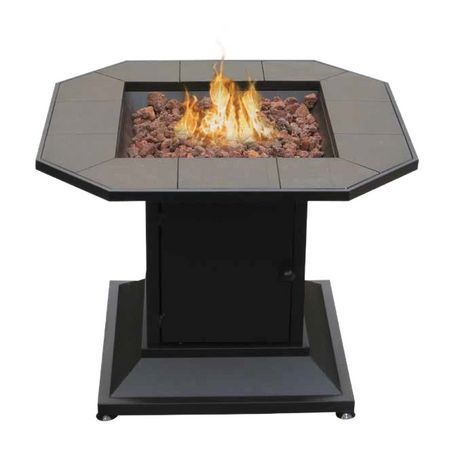 Foyer gaz pour ext rieur design de la table walmart for Foyer d exterieur table luca