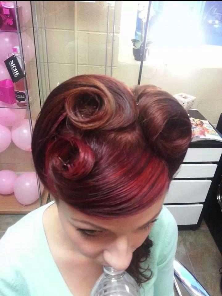 retro hair by jacky