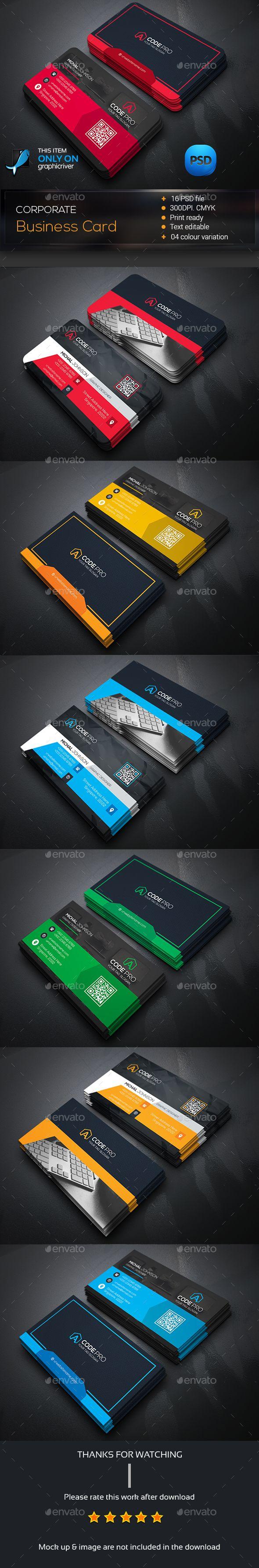 Creative Business Card Template PSD #design Download: http://graphicriver.net/item/creative-business-card/14521047?ref=ksioks