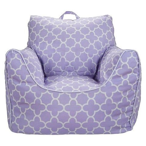 Circo Bean Bag Chair With Removable Cover Lavender