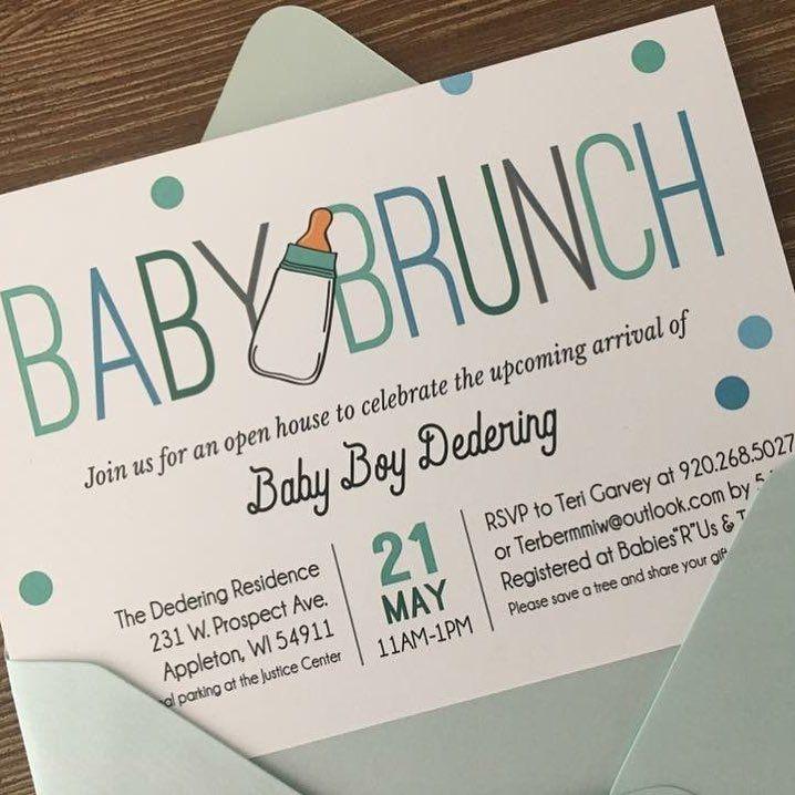 BABY BRUNCH babyshowerinvitations invites mymenuista 8