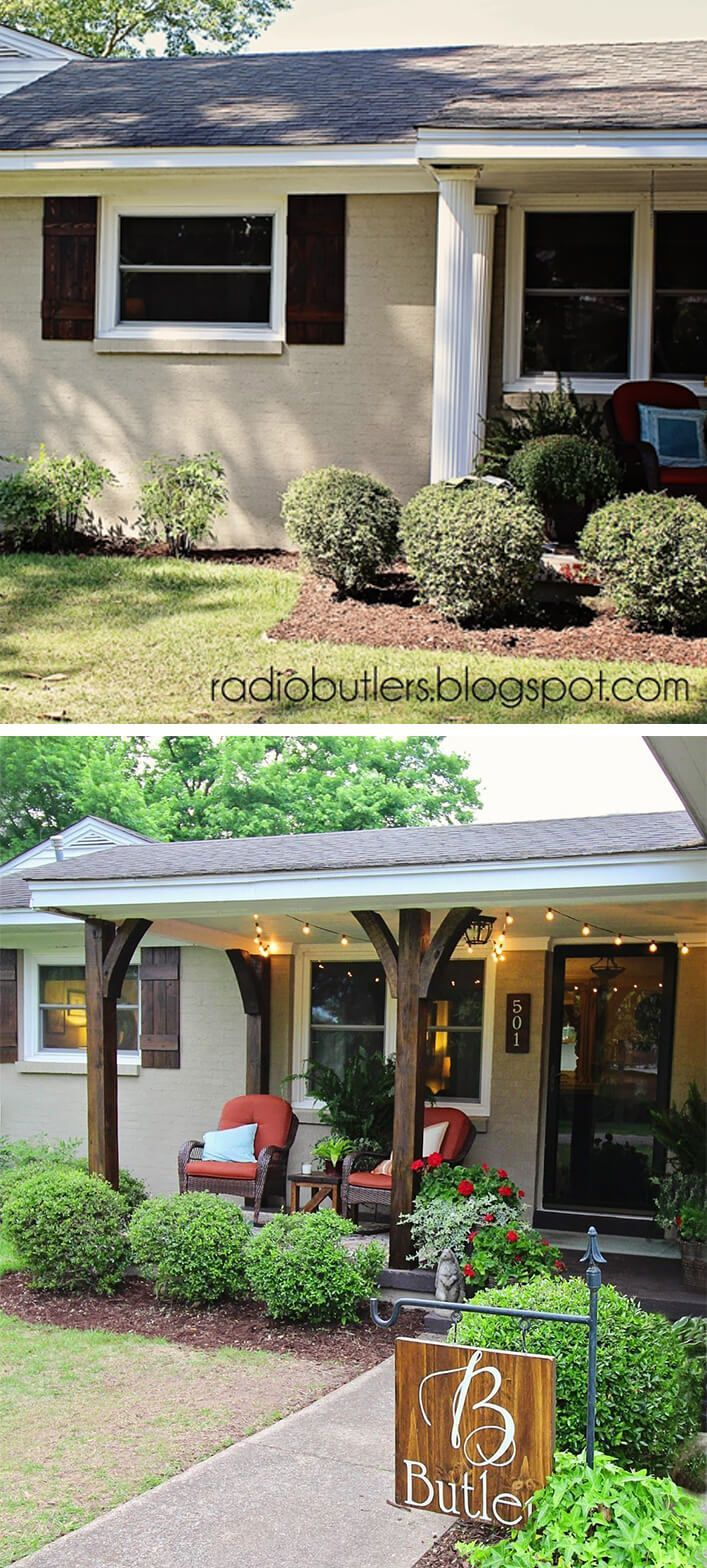 25 Stylish Front Porch Makeover Ideas That Encourage Outdoor
