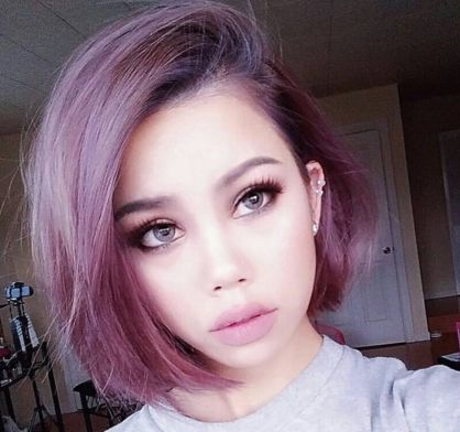 HOW-TO & Formulas: Metallic Purple Bob