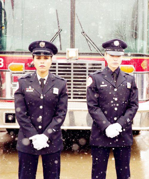 Gabriella Dawson & Leslie Shay - Monica Raymund & Lauren German - Chicago Fire TV Series