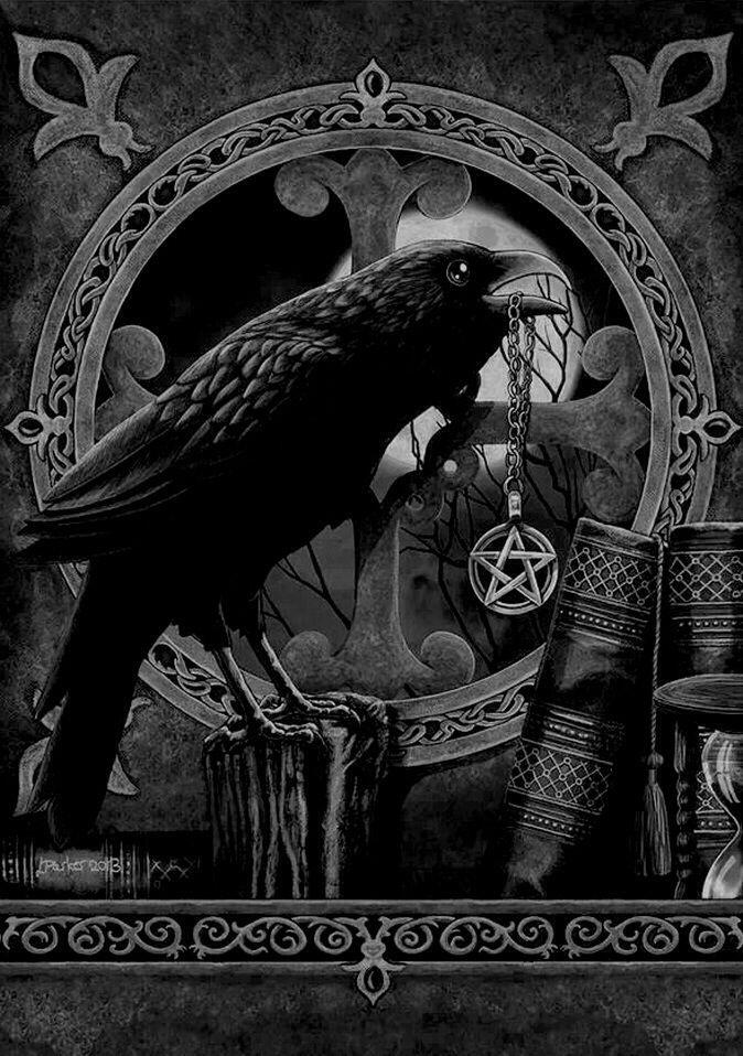Crows Ravens:  #Raven queen