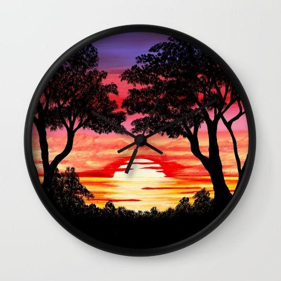 #sunset #art #painting #society6