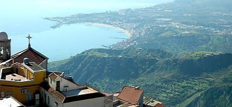 Holidays in Castelmola - Taormina Sicily