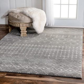 Shop for nuLOOM Geometric Moroccan Beads Dark Grey Rug (9' x 12'). Get free shipping at Overstock.com - Your Online Home Decor Outlet Store! Get 5% in rewards with Club O!
