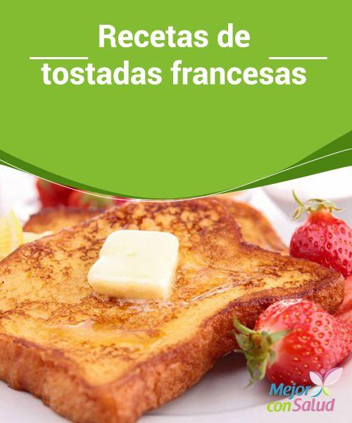 #Recetas de #Tostadas francesas   No dejes de leer la siguiente receta de tostadas francesas. No son aptas para las personas que prefieren lo salado o bien para los que están haciendo #Dieta, corren el riesgo de ¡querer comer muchas!