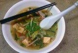 Receta de Sopa de pollo y tofu Dukan