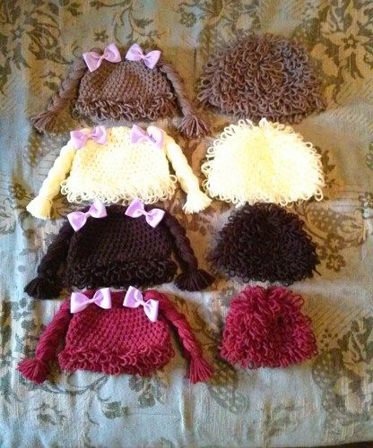 Diy Cabbage Patch Hat Poemsrom