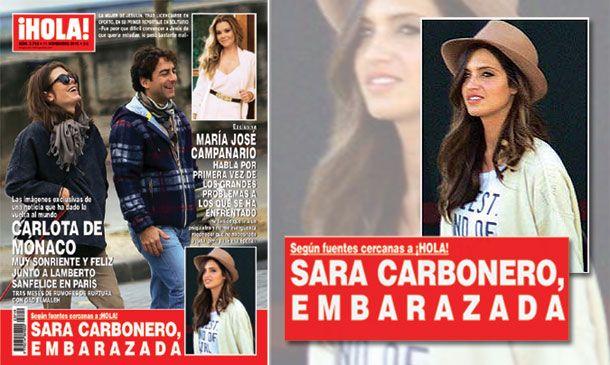 Sara Carbonero está embarazada, según fuentes cercanas a ¡HOLA!