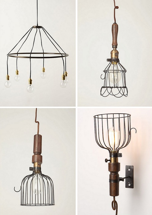 113 best lampshade frame ideas images on pinterest chandeliers more wire lights greentooth Gallery