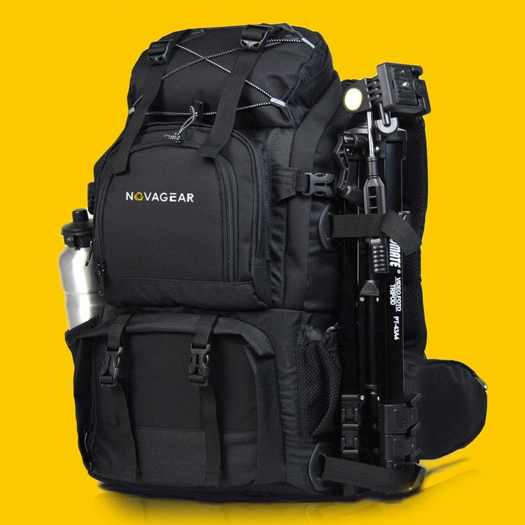 Professional Waterproof Camera Backpack Bag for 17'' Laptop DSLR Canon EOS Nikon | eBay