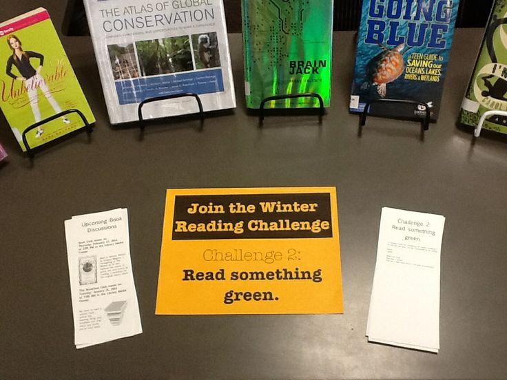 Challenge 2: Read something green.