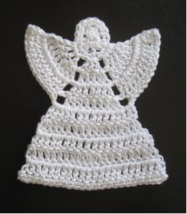 Patrones de ángeles tejidos a crochet. Patterns crocheted angels