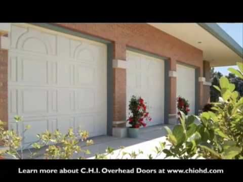 Video On How To Choose A Garage Door For Your Home CHI Overhead Doors Life And Quotes
