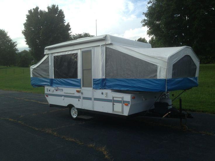 2000 Rockwood Freedom 1910 Pop Up Tent Travel Trailer