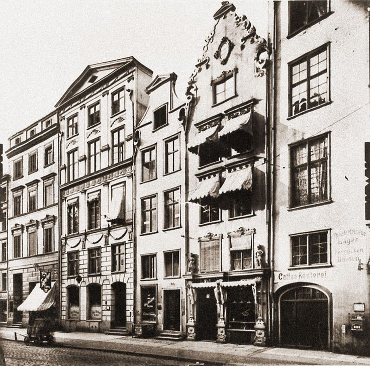 Ogarna Street, Gdańsk / Danzig, before 1945