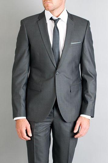 Ventuno Black Gun Metal Grey Suit