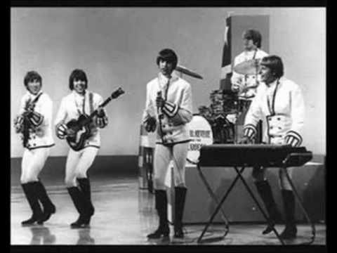 "PAUL REVERE & THE RAIDERS- ""LOUIE, LOUIE"".  Recorded April 1963, the same month and in the same Portland, OR studio as the Kingsmen's more popular version.  The song had been previously recorded in 1960 by Rockin' Robin Roberts, but all three were covers of a 1955 tune by Richard Berry."