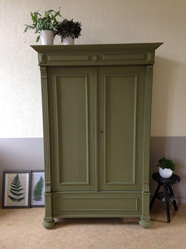 1000+ ideeën over Groene Kasten op Pinterest - Groene keukenkastjes ...