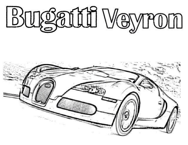 Pretty Image Of Bugatti Coloring Pages Cars Coloring Pages