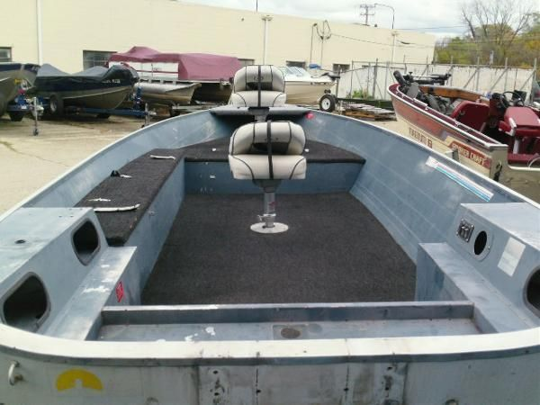 1988 Grumman Boats Gmf 16 Ft. Tiller for sale in Country Club Hills Illinois - United States