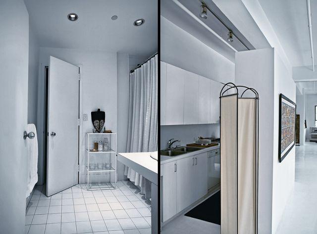 Blok Pełen Wnętrz: Białe na białym, czyli nowojorski apartament projektantki sukien ślubnych.