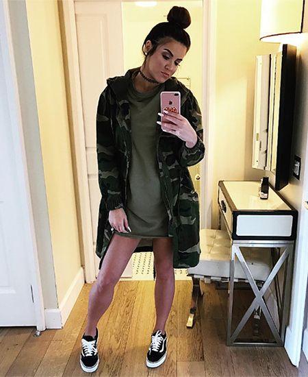 Nicole Guerriero on Instagram December 17, 2016, wearing Vans shoes https://api.shopstyle.com/action/apiVisitRetailer?id=491685398&pid=uid7729-3100527-84. #style #celebstyle #instagram #vans