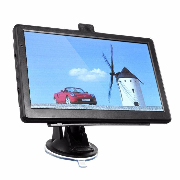 Unversal 7 inch HD Car GPS Navigation Navigator SAT NAV Capacitive Screen FM 4GB Vehicle Truck GPS US Maps