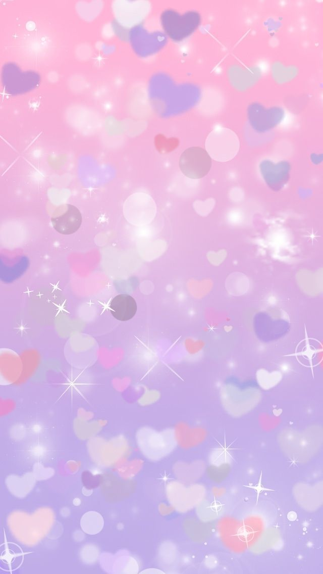Glitter purple hearts cocoppa iphone wallpaper | Iphone wallpapers ...