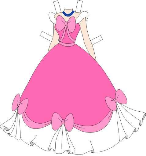 2014 classic princess doll cinderella | ... Disney Princess Paper Dolls hand crafted by Paper Dolls By Gail