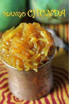 YUMMY TUMMY: Mango Chunda Recipe / Gujarati Sweet Mango Pickle Recipe