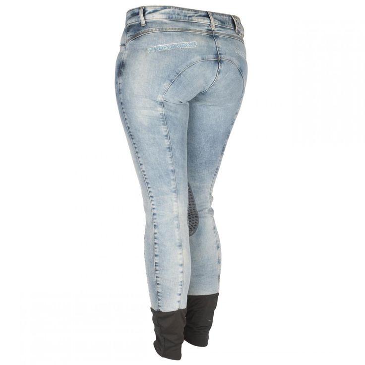 Animo Jeans Noe rijbroek | Divoza Horseworld - Passie voor paarden | #Equestrian #Breeches #Paardrijbroek #Horse #jeans #Sparkle