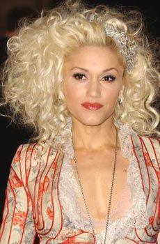 Gwen Stefani hair style