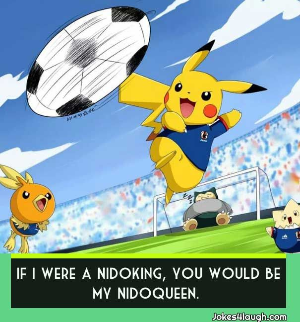 funny pokemon pick up lines