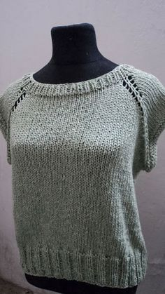 Lace, crochet and more!: Remera básica sin costuras: TUTORIAL
