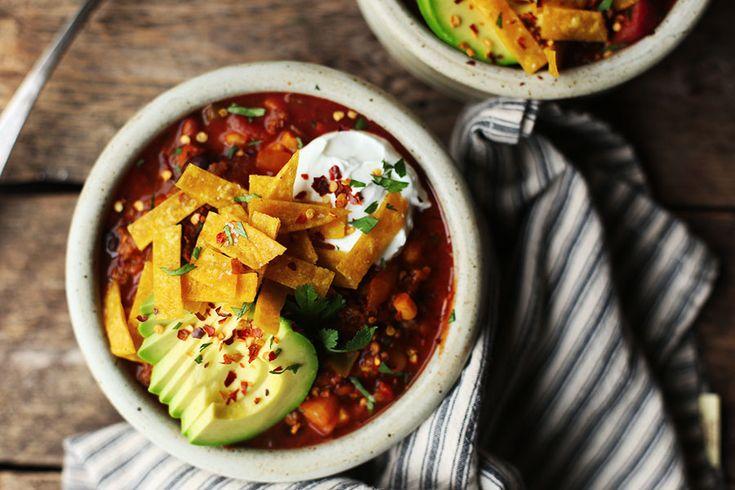 Crock-pot Three-Alarm Chili