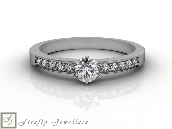 Classic diamond engagement ring. (Source: www.fireflyjewel.co.za)